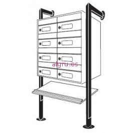 algru_arregui_soporte_pared_aluminio_dibujo