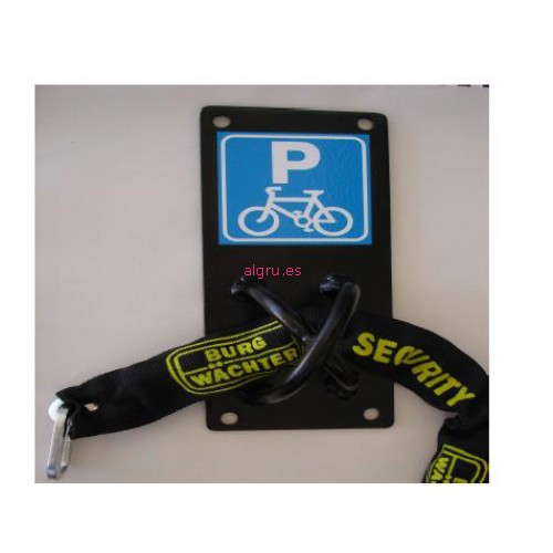 Soporte antirrobo bicicleta - Anclaje para bicicletas ...